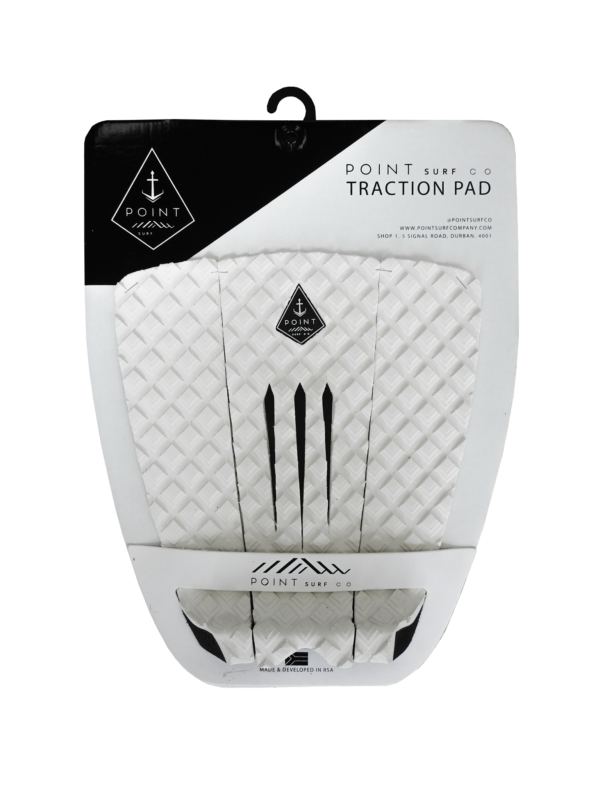 Point Surf co Traction - White