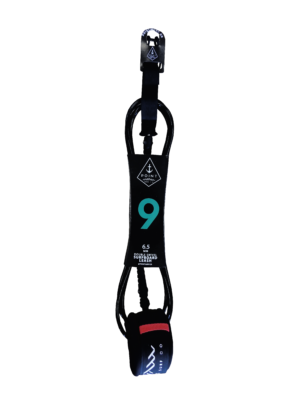 black leash 9ft ankle
